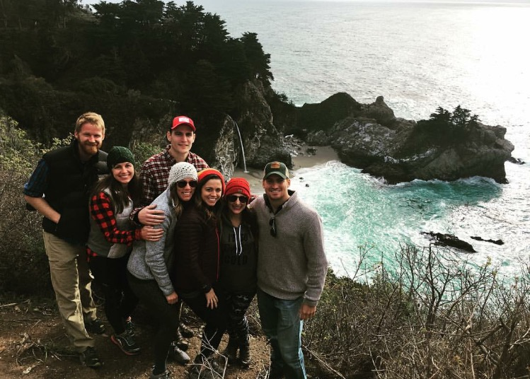 Travel Therapists Christmas in Big Sur